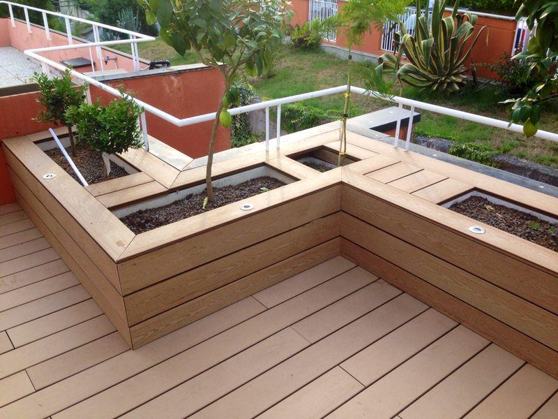 Pavimenti per esterni nocco materie plastiche - Rivestimenti per terrazzi esterni ...