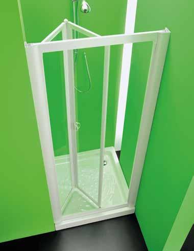 Box doccia nocco materie plastiche - Porta doccia pieghevole ...