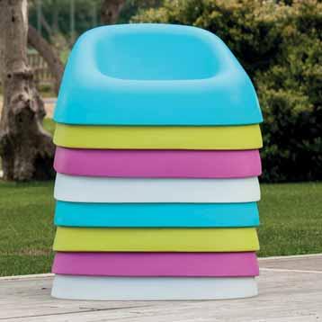 Arredo giardino nocco materie plastiche for Sdraio bordo piscina